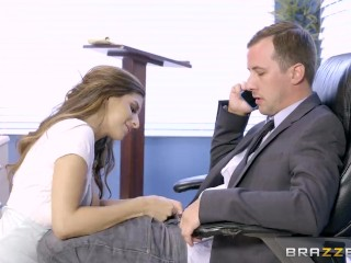 Nina North is a very bad schoolgirl - Brazzers