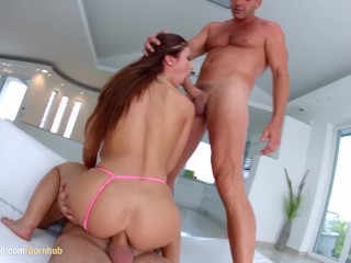 Regina Crystal gets a creampie after sex at All Internal
