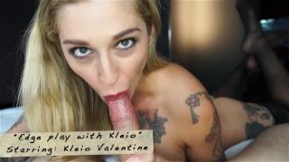 Edge play with Kleio porno