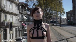 Jeny Smith - MyMokondo straps in public