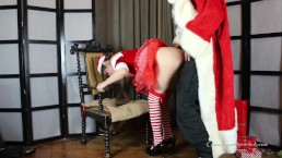 LN's#23 Bad Santa & Naughty Little Helper Fucked and Sprayed On. Ho Ho Ho!