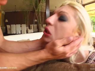 Luminitza in hardcore rough spank scene from Tamed Teens