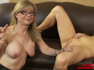 PART 1 LEARN HOW TO PLEASE HER WITH NINA HARTLY & ALLISON MOORE