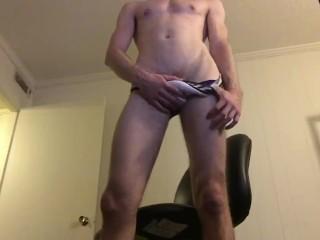 Hot sexy Underwear modeling jock strap briefs bubble butt strip tease