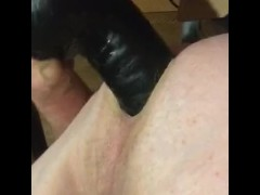 Big dick in straight ass