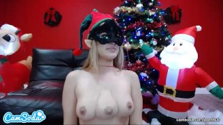 3 Tit Latina Elf in the Christmas spirt, a CamSoda Live Exclusive