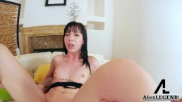 Young Tattooed Teen Charlotte Sartre Takes 2 Huge Cocks In her Ass!