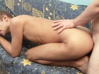 Horny amateur friends fuck bareback for the camera