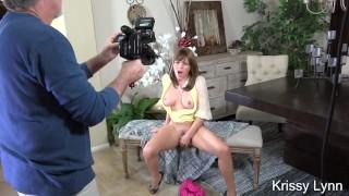 Krissy Lynn Glamour Masturbation BTS