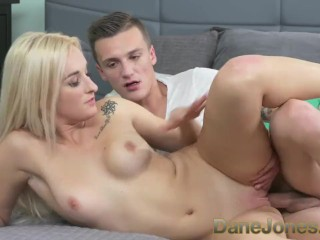 DaneJones Hot romance for shaved pussy blonde