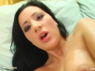 Kristina Banks being solo masturbating on Give Me Pink with passion