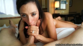Stepmother swallows son's load Doggystyle vixen