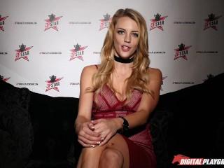 Nikki benz judging girls blowjob skills in dpstar...