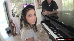 BrutalClips - Young pianist Fucked Hard by horny stud