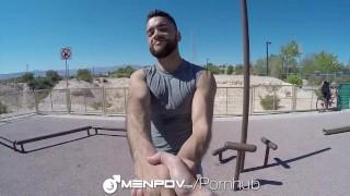 MenPov - Hot Strangers Fuck & Film POV Latino anal