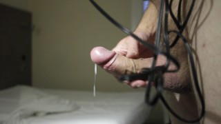Another Big Load of creay thick cum from my fat cock