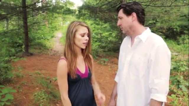 stepFather & stepDaughter sneak away from family picnic to fuck 20