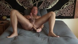 Dildo In My Ass Orgams In Bed