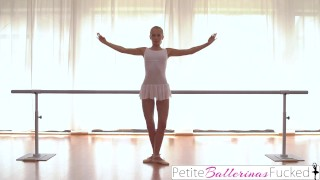 PetiteBallerinasFucked- Blonde Dancer Fucks Instructors Son