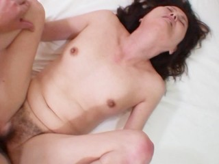 Sweet Japanese granny Michiko Sudo may be old but she can still fuck