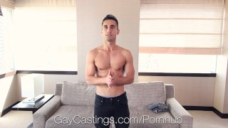GayCastings - David Mazano Banged By Creepy Agent Teen hardcore