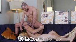 ManRoyale - Paul Cannon Pounds Muscle Hunk