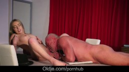 High fever wet pussy wild fucked at the old doctor recommendation