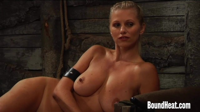 Blonde Mistress With Big Natural Tits Undressing 37
