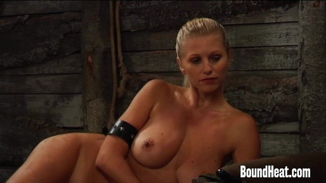 Blonde Mistress With Big Natural Tits Undressing 20