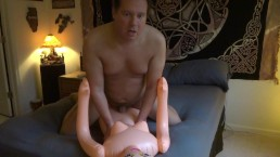 Pumping Cum Into My Doll