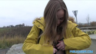 Public Agent Innocent Babe Paid for Sex Busty teenager