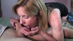 MILF Sucks and Fucks A Young Nervous Pornhub Member