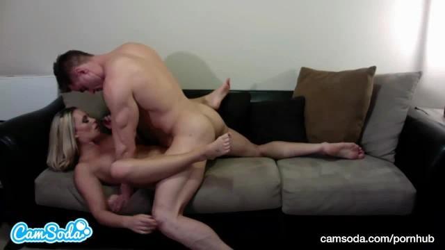 big tits big ass blonde fucks big dick dude trying to squirt after blowjob 2
