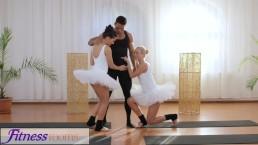 Fitness Rooms Tengere ballet leraars geheimen trio