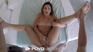 POVD - Gorgeous Leah Gotti fucked and facialed after shower Fake straight