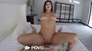 POVD - Gorgeous Leah Gotti fucked and facialed after shower Of big