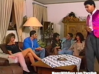 Group Anal Sex Involving Three Big Tit MILFs