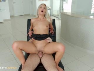 Cecilia Scott gets messy gonzo creampie on All Internal