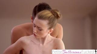 PetiteBallerinasFucked - Tiny Ballerina Deepthroats Cock