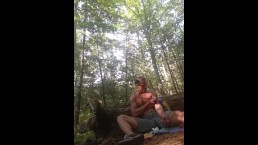 Slamming naked in the woods at a gay cruise park