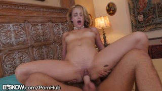 BSkow Blake Eden gets Jizz on Her Pussy