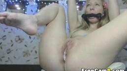 Blonde Lesbian Hot Real Pussy Cream