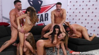 Digital Playground- DP Star Season 3 Episode 6, Final top 5 Orgy porno