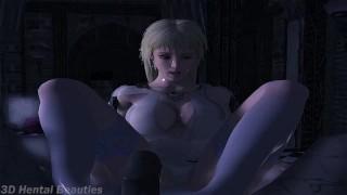 Holy Feet  footjob foot fetish futanari sfm xalas studios hentai big cock futa anime dickgirl