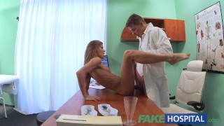 Pussy cure doctor hospital fake hangover patients tight to fucks his blowjob fakehospital