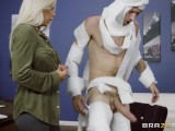 Rachel Roxxx has fun at the office costume party – Brazzers