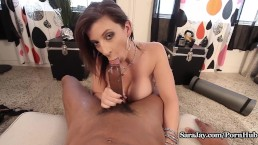 Sara Sucks Neighbor's BBC Off For a Cup of Sugar!
