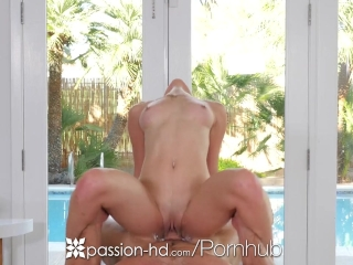 Passion-HD - Messy massage turns into fuck with Michelle Taylor