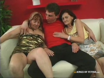 Two grannies fucking