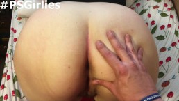 Danielle gets spanked, fucked doggystyle and gets a creampie!